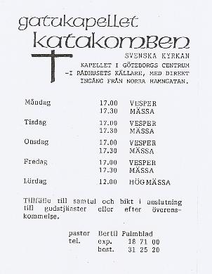 Informationsblad