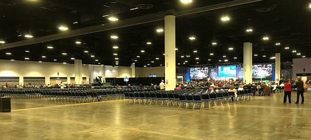 Gigantiskt lutherskt kyrkomöte