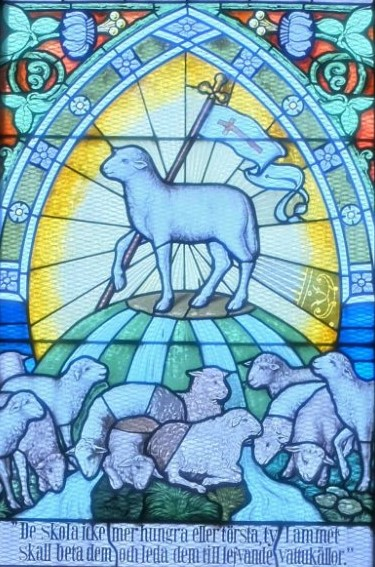 Korfönstret i S:t Sigfrids kyrka