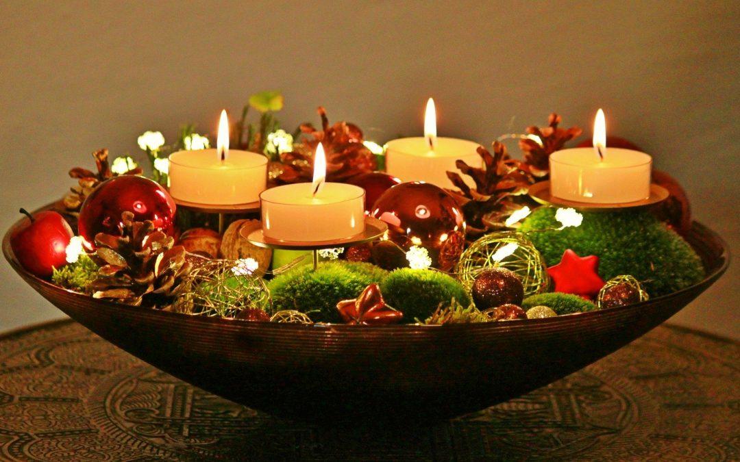Ord till eftertanke, varje dag i advent (vecka 1, 2, 3 & 4)