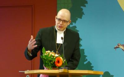 Juhana Pohjola vald till biskop i Finland