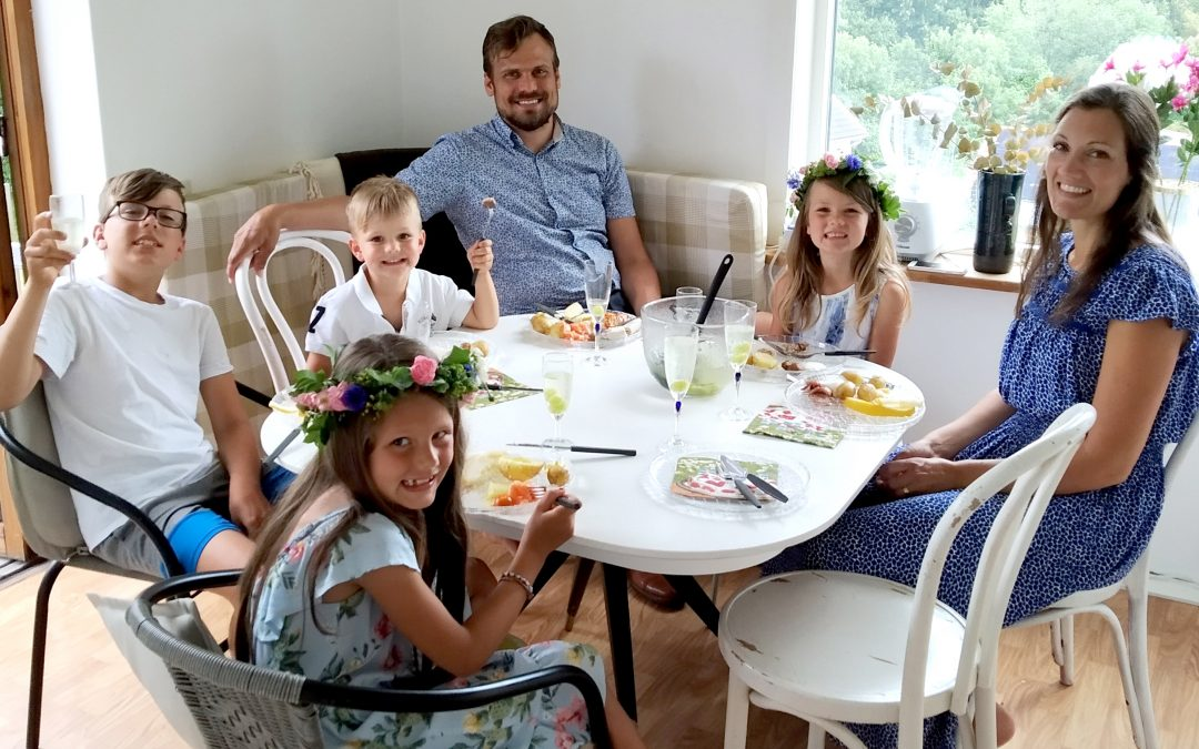 Familjen Appell inför nya uppgifter